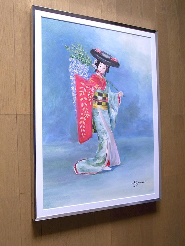 東京都在住「丹羽辰男」様の「藤娘」