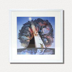 藤城清治 影絵「月光の響き」