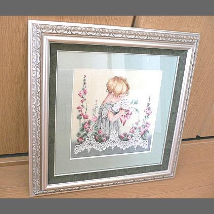 岐阜のMIさんの刺繍作品「エマ」